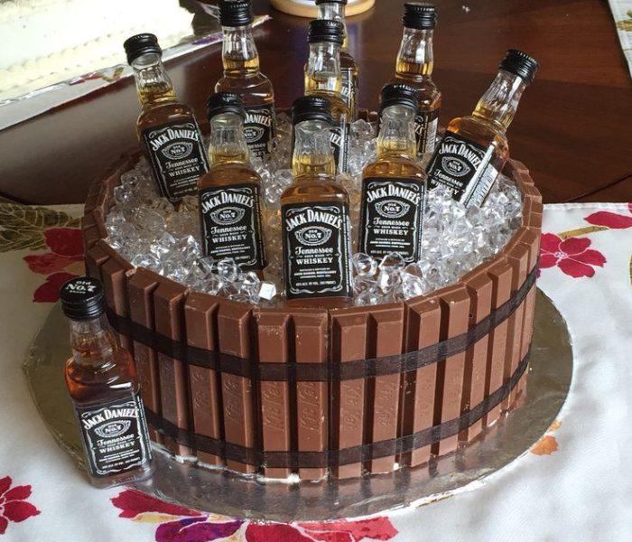 Bolo Jack Daniel's